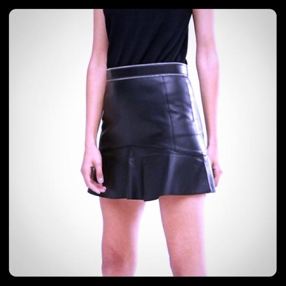 fc17fce02 💋Faux Leather Ruffle Hem Mini💋. Fashion Nova. M_5bee823403087c49dcac0494.  M_5bee8263fe51512bbc4cd7dd. M_5bee827312cd4afdd776e589